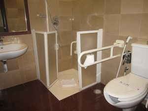 disabled room in hotel housekeeping