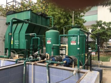 swage treatment plant of hotel